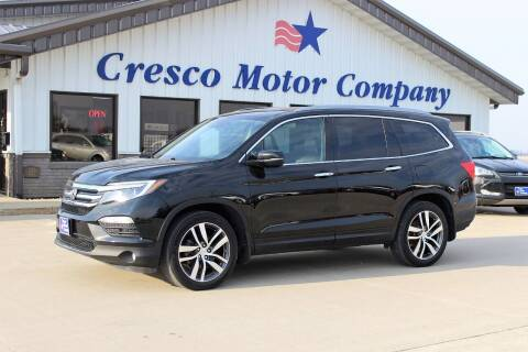 2016 Honda Pilot for sale at Cresco Motor Company in Cresco IA