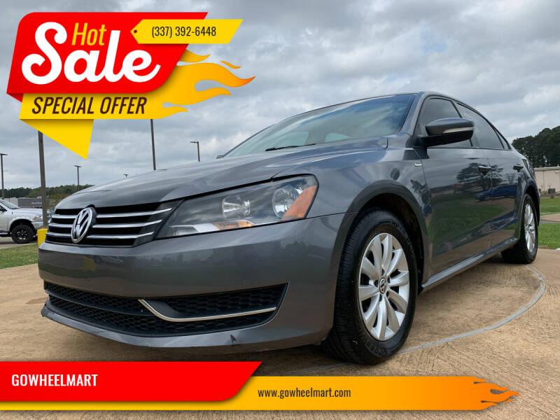 2014 Volkswagen Passat for sale at GOWHEELMART in Leesville LA