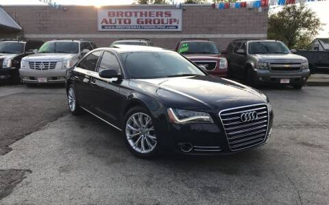 2011 Audi A8 for sale at Brothers Auto Group in Youngstown OH