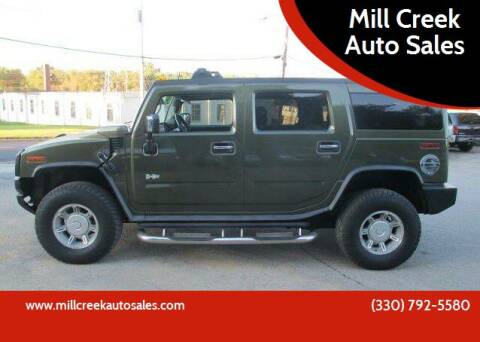2003 HUMMER H2 for sale at Mill Creek Auto Sales in Youngstown OH