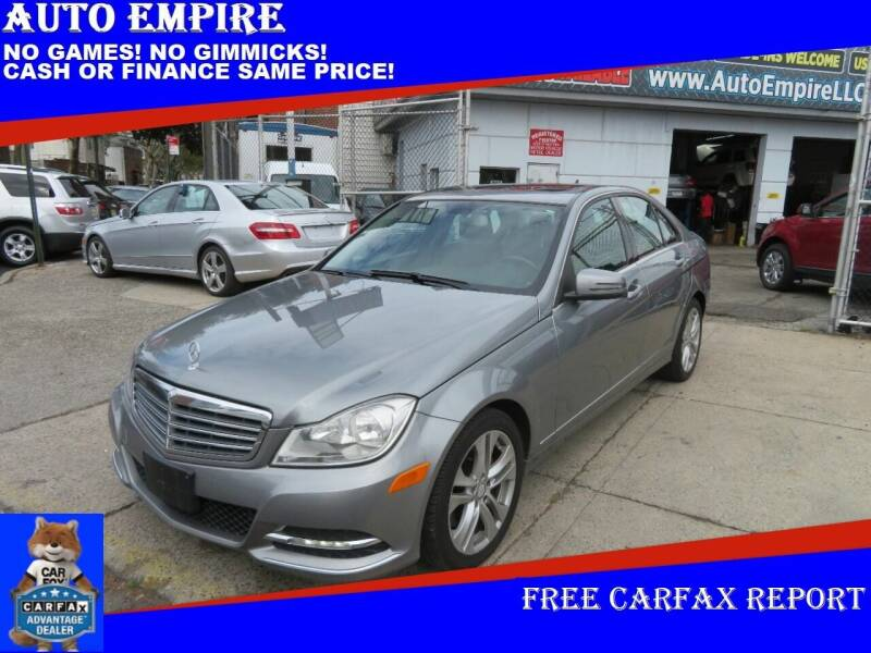 2014 Mercedes-Benz C-Class for sale at Auto Empire in Brooklyn NY