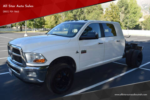 2012 RAM Ram Pickup 3500 for sale at All Star Auto Sales in Pleasant Grove UT