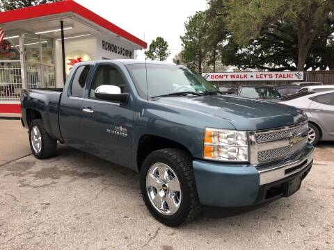 2009 Chevrolet Silverado 1500 for sale at Richmond Car Co in Richmond TX