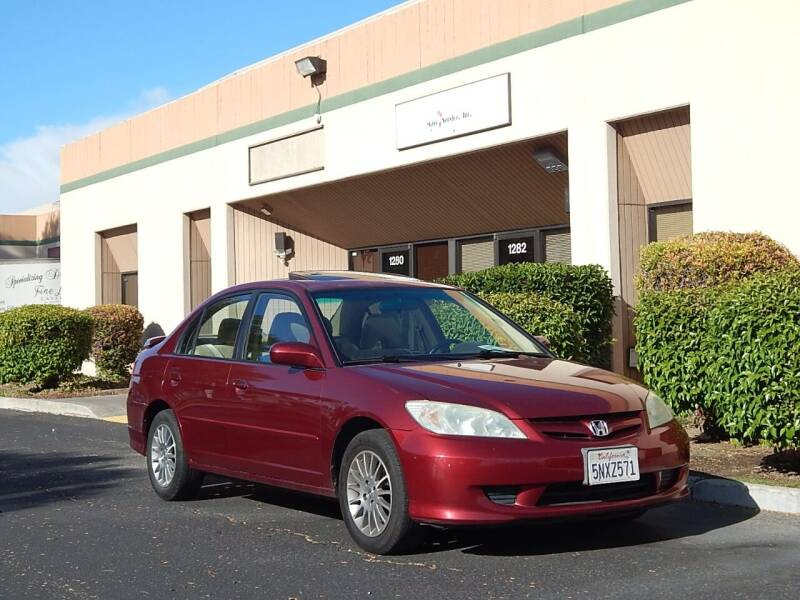 2005 Honda Civic for sale at Crow`s Auto Sales in San Jose CA