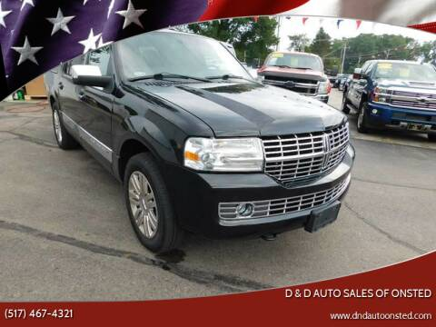 2014 Lincoln Navigator L for sale at D & D Auto Sales Of Onsted in Onsted   Brooklyn MI