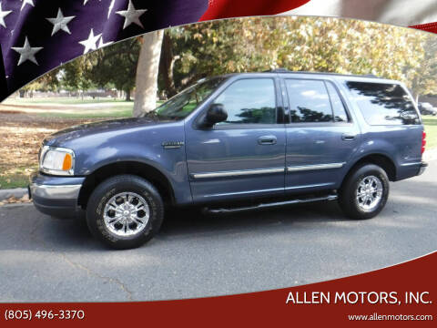 2002 Ford Expedition for sale at Allen Motors, Inc. in Thousand Oaks CA