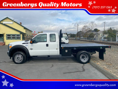 2015 Ford F-450 Super Duty for sale at Greenbergs Quality Motors in Napa CA