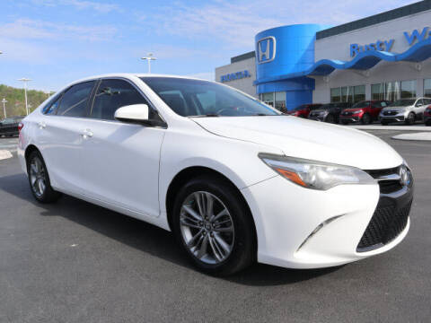 2015 Toyota Camry for sale at RUSTY WALLACE HONDA in Knoxville TN