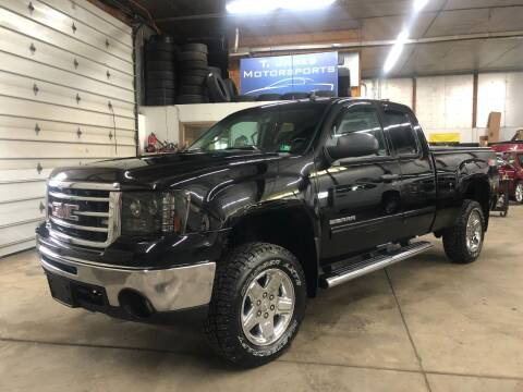2013 GMC Sierra 1500 for sale at T James Motorsports in Gibsonia PA
