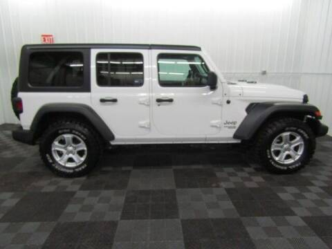 2018 Jeep Wrangler Unlimited for sale at Michigan Credit Kings in South Haven MI