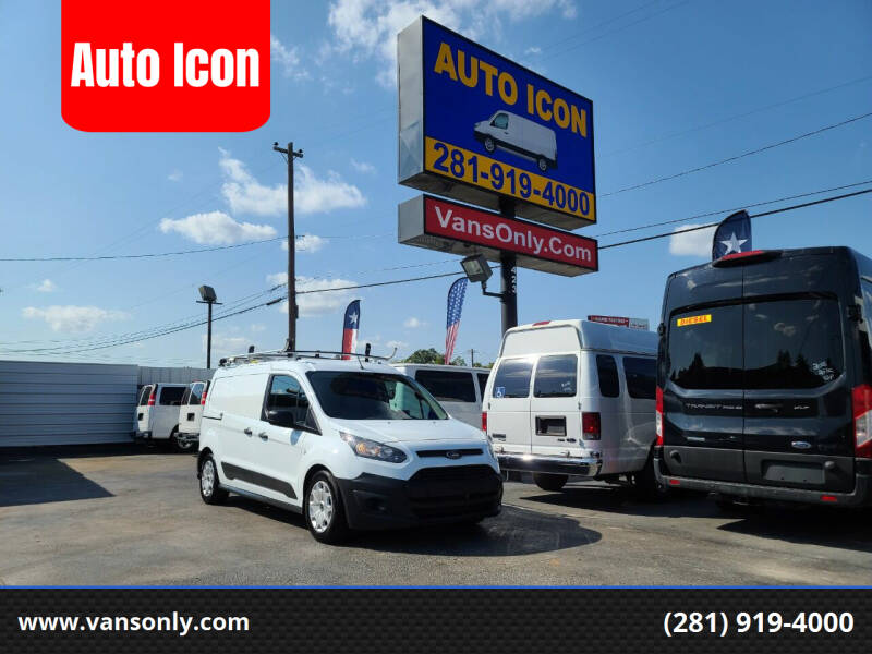 2017 Ford Transit Connect Cargo for sale at Auto Icon in Houston TX