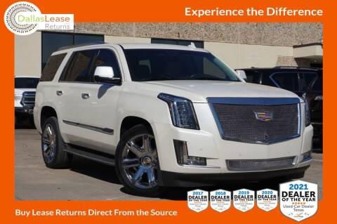 2015 Cadillac Escalade for sale at Dallas Auto Finance in Dallas TX