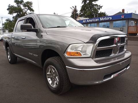 2011 RAM Ram Pickup 1500 for sale at All American Motors in Tacoma WA