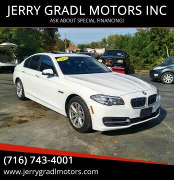 2014 BMW 5 Series for sale at JERRY GRADL MOTORS INC in North Tonawanda NY