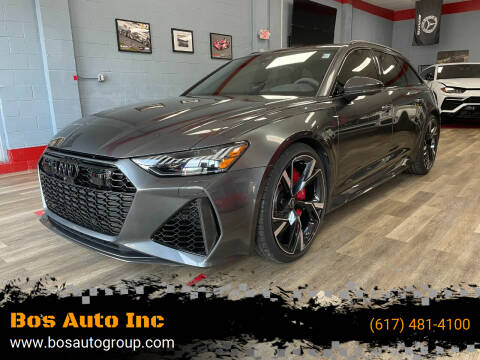 2021 Audi RS 6 for sale at Bos Auto Inc in Quincy MA