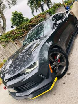 2017 Chevrolet Camaro for sale at IRON CARS in Hollywood FL