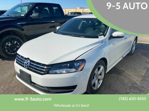 2014 Volkswagen Passat for sale at 9-5 AUTO in Topeka KS