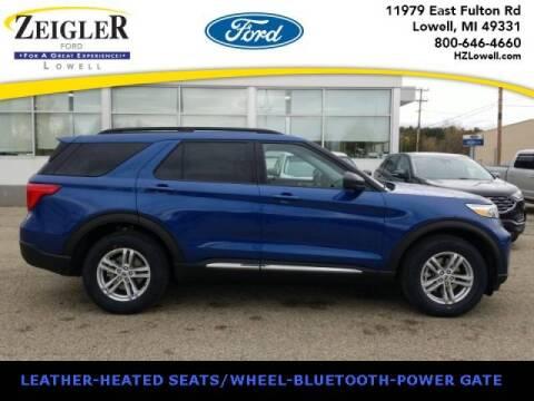 2021 Ford Explorer for sale at Zeigler Ford of Plainwell- michael davis in Plainwell MI