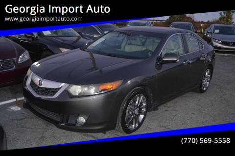 2009 Acura TSX for sale at Georgia Import Auto in Alpharetta GA