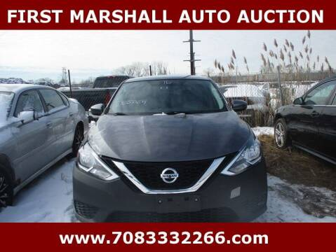 2016 Nissan Sentra for sale at First Marshall Auto Auction in Harvey IL
