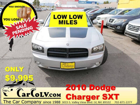2010 Dodge Charger for sale at The Car Company in Las Vegas NV