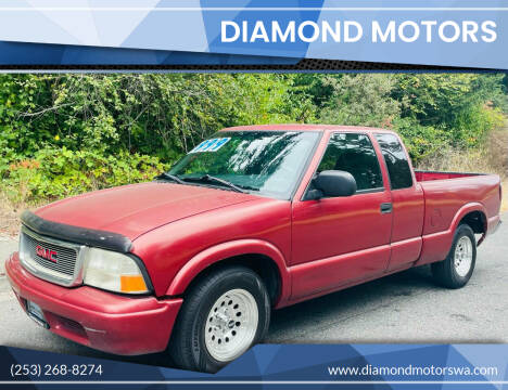 2002 GMC Sonoma for sale at Diamond Motors in Lakewood WA