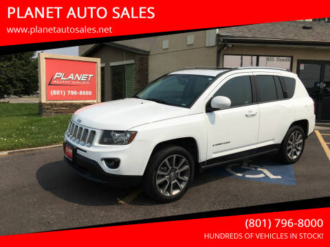 2014 Jeep Compass for sale at PLANET AUTO SALES in Lindon UT