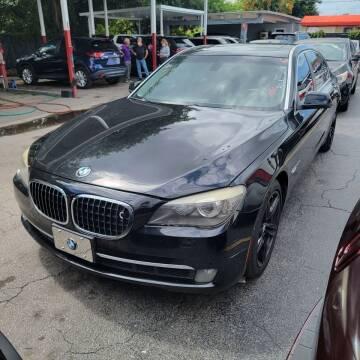 2009 BMW 7 Series for sale at America Auto Wholesale Inc in Miami FL