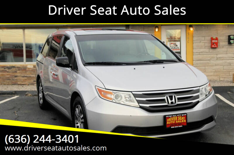 2011 Honda Odyssey for sale at Driver Seat Auto Sales in St. Charles MO