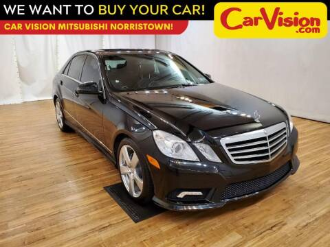 2011 Mercedes-Benz E-Class for sale at Car Vision Mitsubishi Norristown in Trooper PA