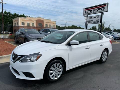 2017 Nissan Sentra for sale at Auto Sports in Hickory NC