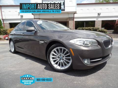 2011 BMW 5 Series for sale at IMPORT AUTO SALES in Knoxville TN