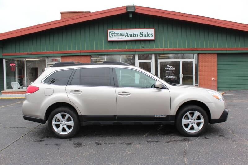 2014 Subaru Outback for sale at Gentry Auto Sales in Portage MI