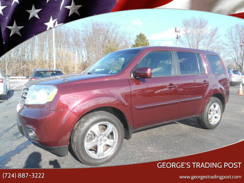 2014 Honda Pilot for sale at GEORGE'S TRADING POST in Scottdale PA