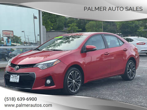 2015 Toyota Corolla for sale at Palmer Auto Sales in Menands NY