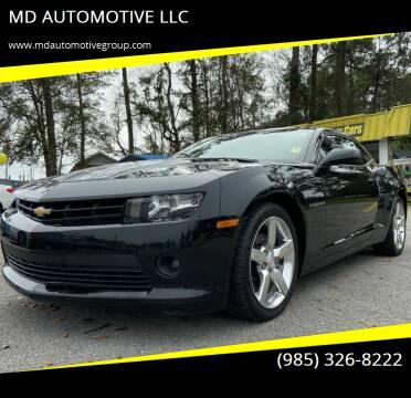 2015 Chevrolet Camaro for sale at MD AUTOMOTIVE LLC in Slidell LA