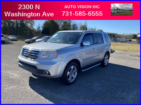 2013 Honda Pilot for sale at Auto Vision Inc. in Brownsville TN