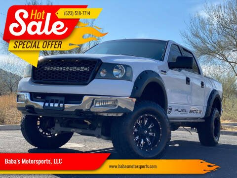 2004 Ford F-150 for sale at Baba's Motorsports, LLC in Phoenix AZ