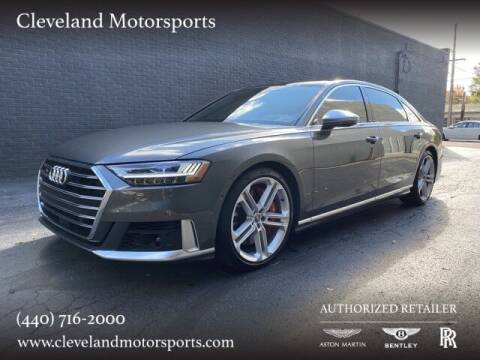 2020 Audi S8 for sale at Drive Options in North Olmsted OH