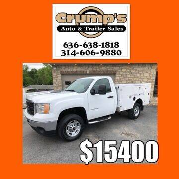 2013 GMC Sierra 2500HD for sale at CRUMP'S AUTO & TRAILER SALES in Crystal City MO