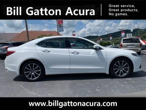 2015 Acura TLX for sale at Bill Gatton Used Cars - BILL GATTON ACURA MAZDA in Johnson City TN