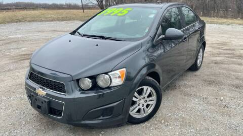2015 Chevrolet Sonic for sale at ROUTE 6 AUTOMAX - THE AUTO EXCHANGE in Harvey IL