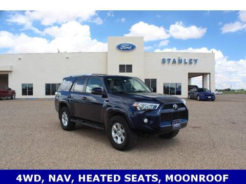 2016 Toyota 4Runner for sale at STANLEY FORD ANDREWS in Andrews TX