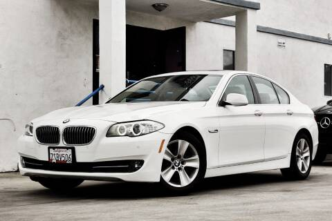 2013 BMW 5 Series for sale at Fastrack Auto Inc in Rosemead CA