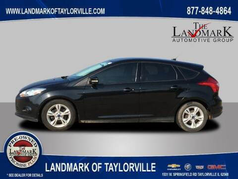 2014 Ford Focus for sale at LANDMARK OF TAYLORVILLE in Taylorville IL