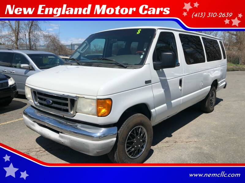 2007 Ford E-Series Wagon for sale at New England Motor Cars in Springfield MA