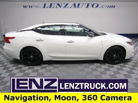 2017 Nissan Maxima for sale at LENZ TRUCK CENTER in Fond Du Lac WI