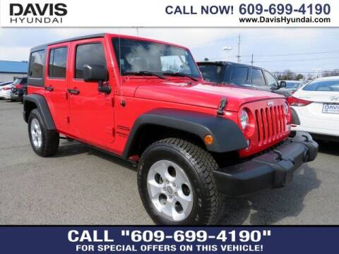 2016 Jeep Wrangler Unlimited for sale at Davis Hyundai in Ewing NJ