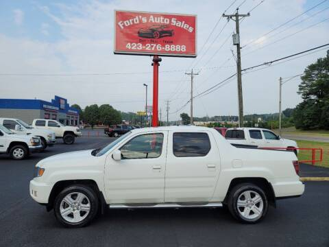 2014 Honda Ridgeline for sale at Ford's Auto Sales in Kingsport TN