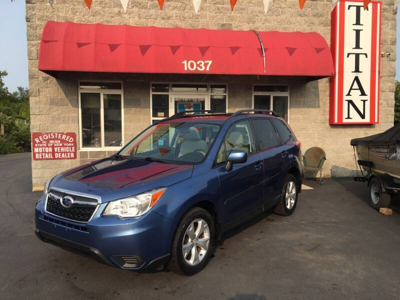 2015 Subaru Forester for sale at Titan Auto Sales LLC in Albany NY